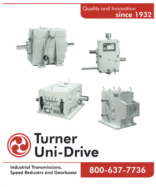 Turner Uni Drive Catalog CATALOG